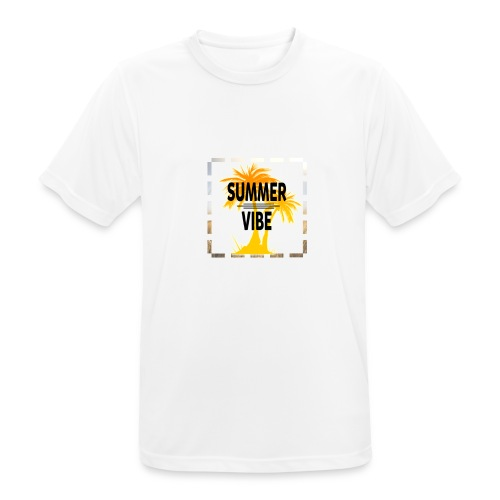 Summer Vibe ( Sommer Stimmung) - Männer T-Shirt atmungsaktiv