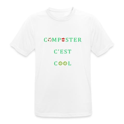 Composter C'est Cool - T-shirt respirant Homme