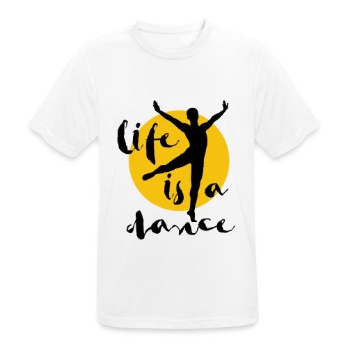 Ballett Tänzer - Männer T-Shirt atmungsaktiv
