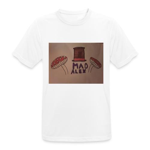Mad Alex Logo - Men's Breathable T-Shirt