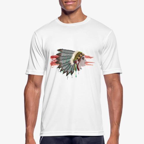 Native american - T-shirt respirant Homme