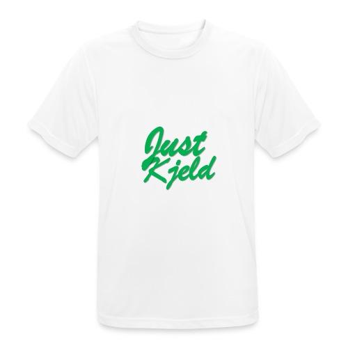 JustKjeld - Mannen T-shirt ademend actief