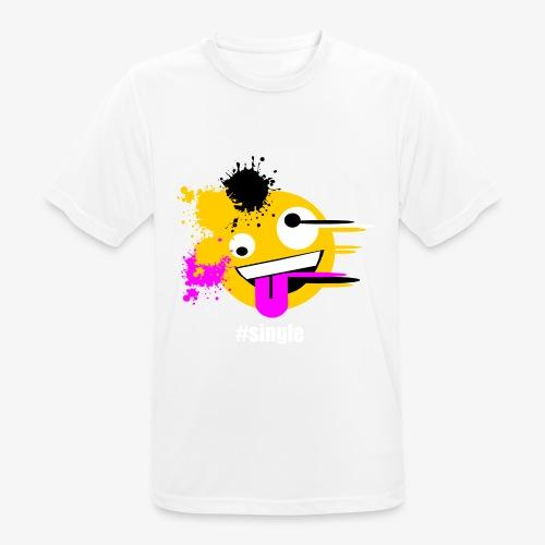Emoji Art #single - Männer T-Shirt atmungsaktiv
