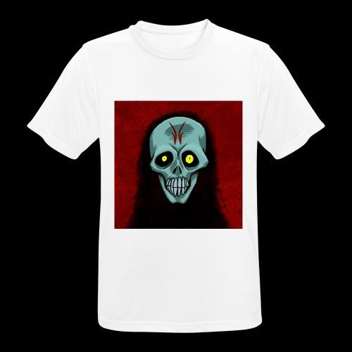 Ghost skull - Men's Breathable T-Shirt