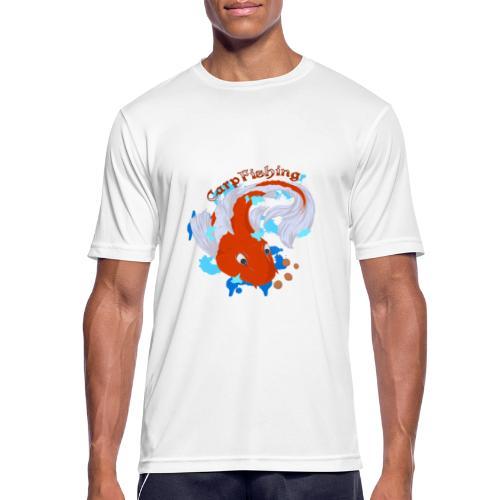 Carpa Koi - Carp Fishing - Maglietta da uomo traspirante