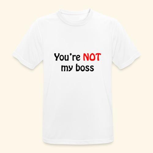 boss - Männer T-Shirt atmungsaktiv