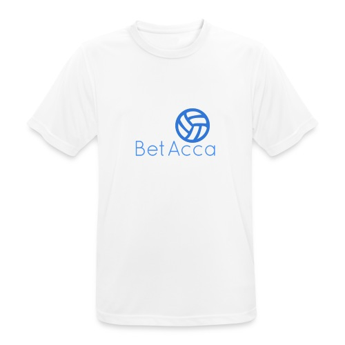 BetAcca Logo - Men's Breathable T-Shirt