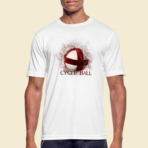 Radball | Cycle Ball - Männer T-Shirt atmungsaktiv