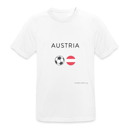 Austria Fußball - Männer T-Shirt atmungsaktiv