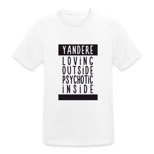 Yandere manga - Men's Breathable T-Shirt