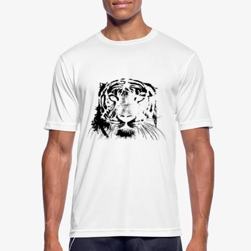 BLACK TIGER - Camiseta hombre transpirable