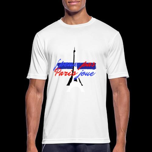 j'peux pas Paris joue foot france - T-shirt respirant Homme