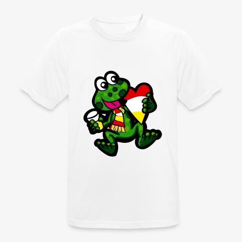 Oeteldonk Kikker - Mannen T-shirt ademend