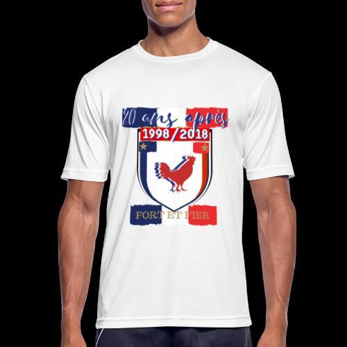 france FRANCE foot coupe du monde football - T-shirt respirant Homme