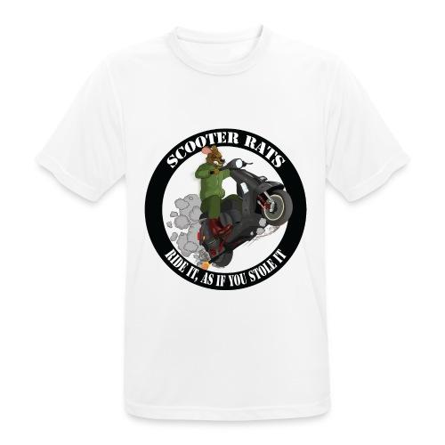 Scooter Rat - Men's Breathable T-Shirt