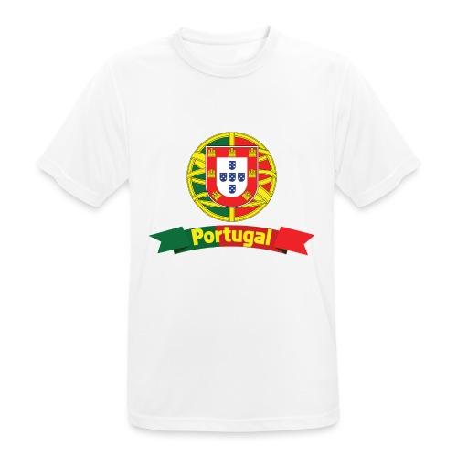 Portugal Campeão Europeu Camisolas de Futebol - Men's Breathable T-Shirt