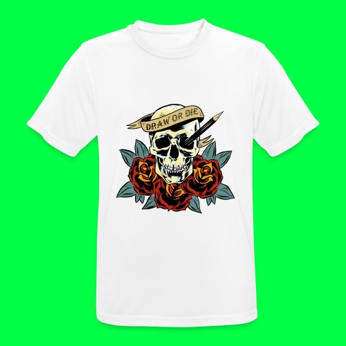 draw or die - T-shirt respirant Homme