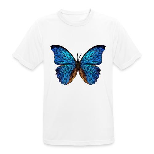 PAPILLON - LOW POLY (Outline) - T-shirt respirant Homme