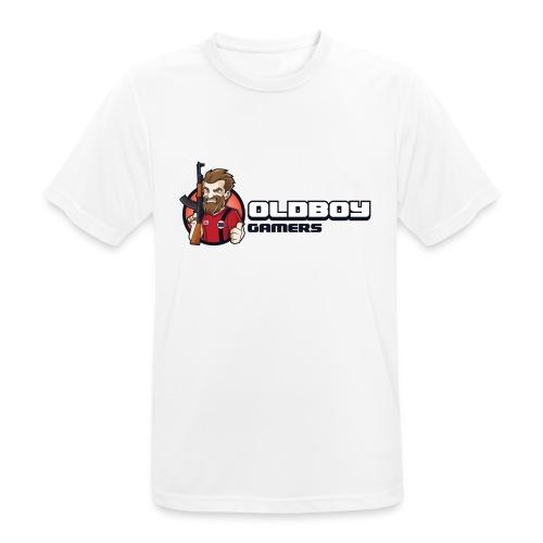 Oldboy Gamers Fanshirt - Pustende T-skjorte for menn