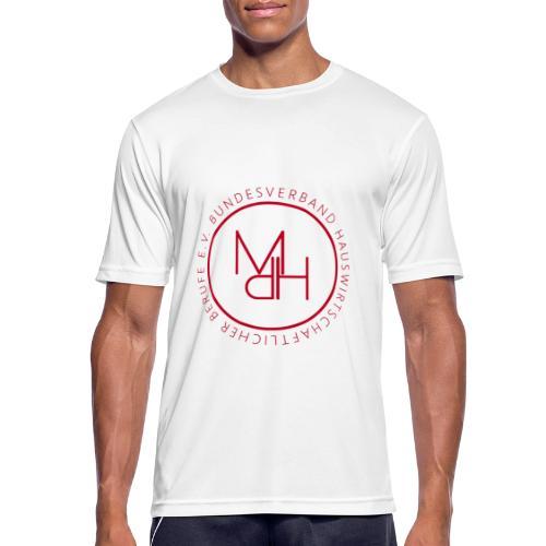 MdH-Siegel - Männer T-Shirt atmungsaktiv
