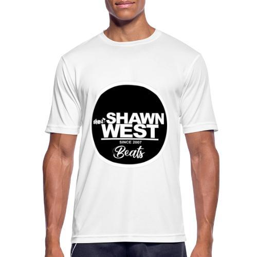 SHAWN WEST BUTTON - Männer T-Shirt atmungsaktiv