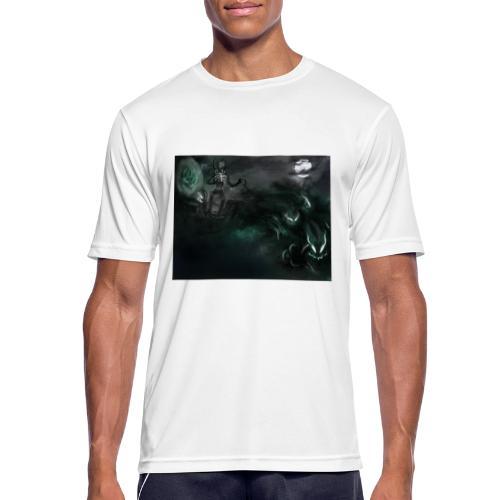dark santa - T-shirt respirant Homme