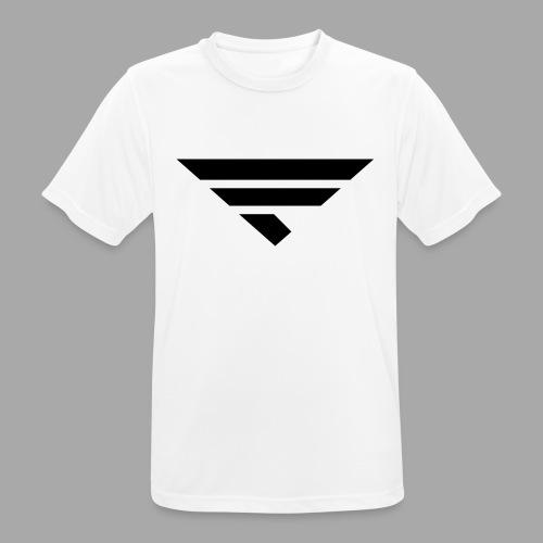 LOGO BLACK - Männer T-Shirt atmungsaktiv