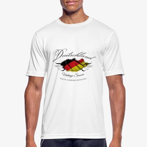 Vintage Deutschland - Männer T-Shirt atmungsaktiv