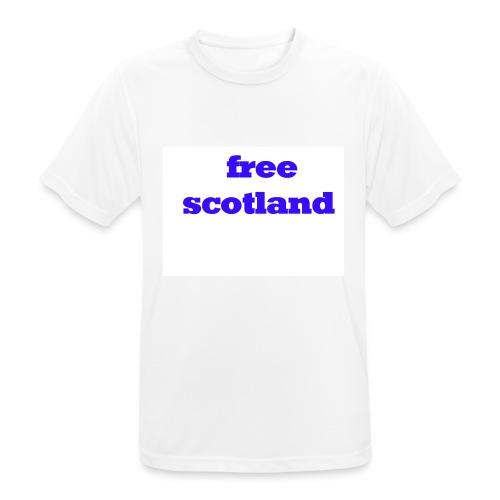 free scotland - Men's Breathable T-Shirt