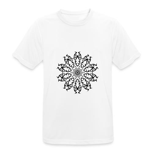 fleur - T-shirt respirant Homme