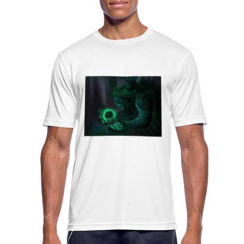 big tree - T-shirt respirant Homme