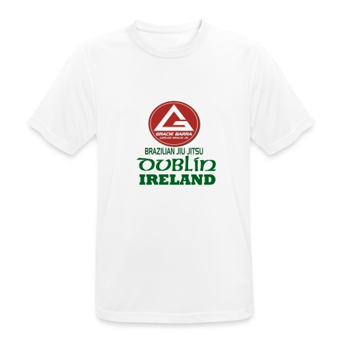 Gracie Barra Dublin Gaelic Celtic Font PNG - Men's Breathable T-Shirt