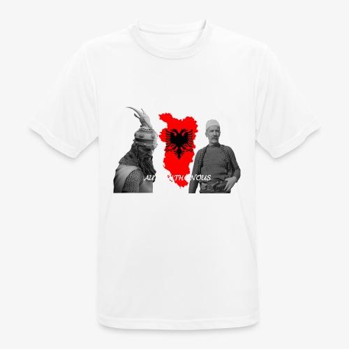 Autochthonous das Shirt muss jeder Albaner haben - Männer T-Shirt atmungsaktiv
