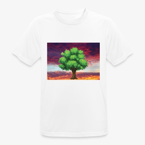 Tree in the Wasteland - Men's Breathable T-Shirt