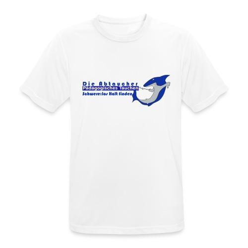 logo Abtaucher ohne gif - Männer T-Shirt atmungsaktiv