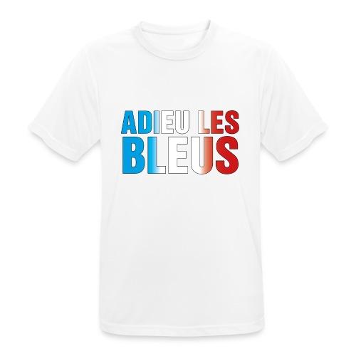 Adieu les bleus - Männer T-Shirt atmungsaktiv
