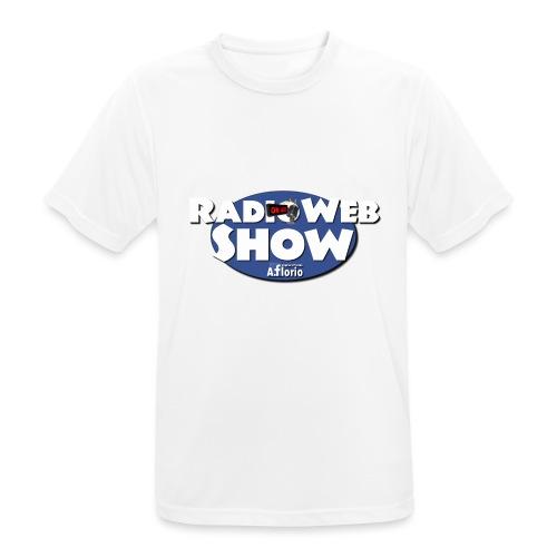 Logo RadioWebShow - Maglietta da uomo traspirante