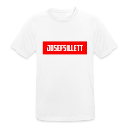 Josef Sillett Red - Men's Breathable T-Shirt