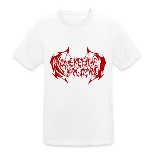 ARV Logo rosso - Maglietta da uomo traspirante