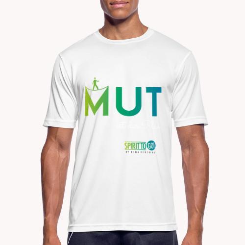 Mut ist der Plan - Männer T-Shirt atmungsaktiv