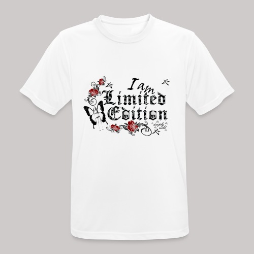 simply wild limited Edition on white - Männer T-Shirt atmungsaktiv