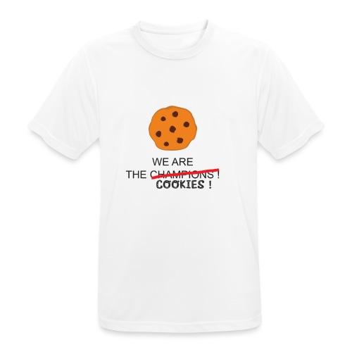 WE ARE THE COOKIES - Maglietta da uomo traspirante