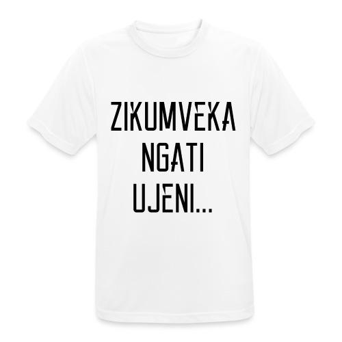Zikumveka Ngati Black - Men's Breathable T-Shirt