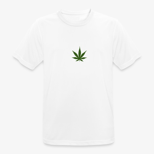 too high design - Mannen T-shirt ademend