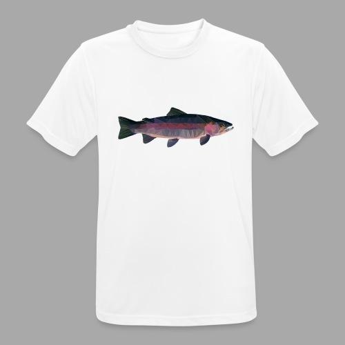 Trout - miesten tekninen t-paita
