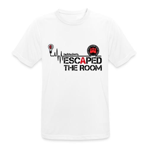 Escaped the room 2 - Männer T-Shirt atmungsaktiv