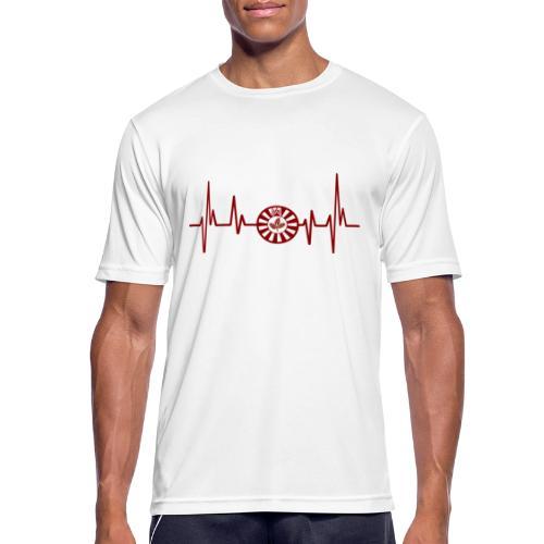 RT-Hearbeat - Männer T-Shirt atmungsaktiv