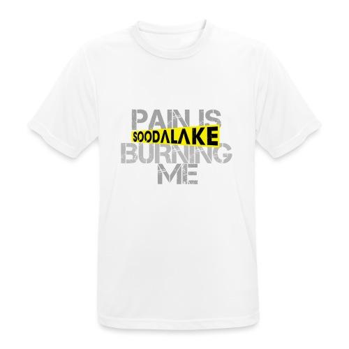 Burning - Männer T-Shirt atmungsaktiv