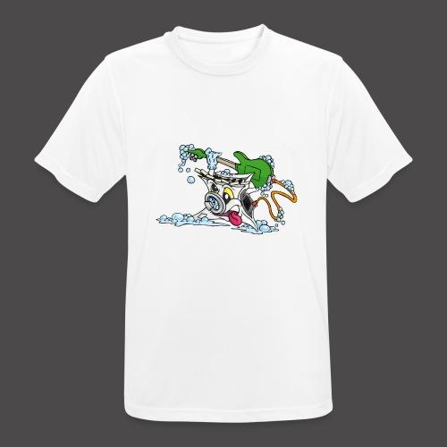 Wicked Washing Machine Wasmachine - Mannen T-shirt ademend