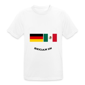 Mexican In Germany - Männer T-Shirt atmungsaktiv
